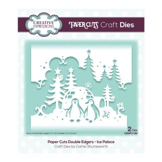 Paper Cuts Festive Double Edger Craft Dies - Ice Palace