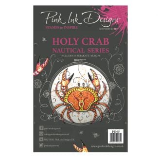 Pink Ink Designs A5 Clear Stamp - Holy Crab