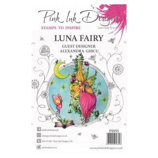 Pink Ink Designs A5 Clear Stamp - Luna Fairy