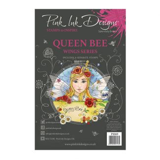 Pink Ink Designs Queen Bee A5 Clear Stamp