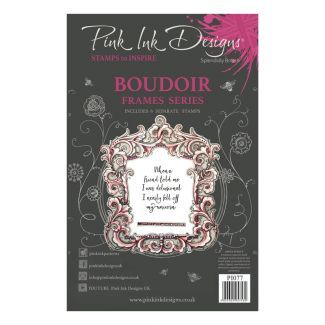 Pink Ink Designs Boudoir A5 Clear Stamp Set