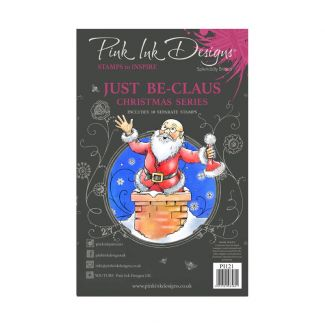 Pink Ink Designs A5 Clear Stamp - Just Be-claus
