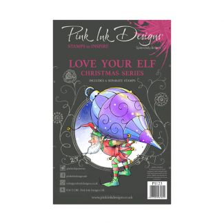 Pink Ink Designs A5 Clear Stamp - Love Your Elf