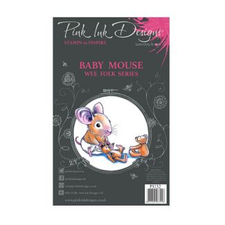 Pink Ink Designs Baby Mouse A7 Clear Stamp Set
