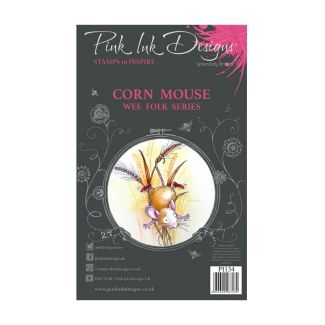 Pink Ink Designs Corn Mouse A7 Clear Stamp Set