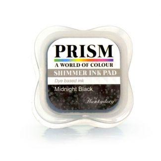 Shimmer Prism Ink Pads - Midnight Black