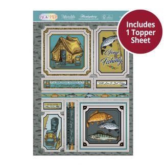Pick 'N' Mix Topper Sheet - Gone Fishing