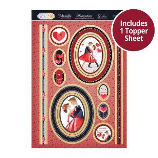 Pick 'N' Mix Topper Sheet - Let's Dance!