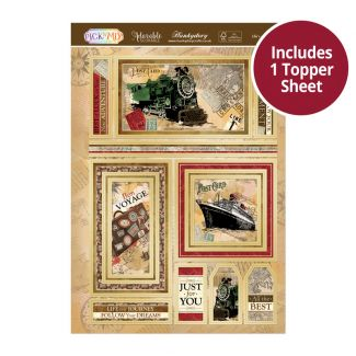 Pick 'N' Mix Topper Sheet - Life's a Journey
