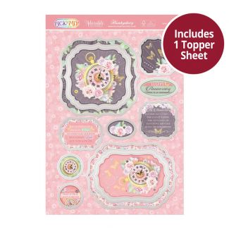 Pick 'N' Mix Topper Sheet - Love is Timeless