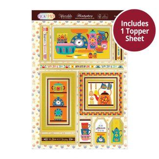 Pick 'N' Mix Topper Sheet - Retro Kitchen