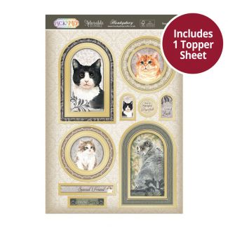 Pick 'N' Mix Topper Sheet - Simply Purrfect