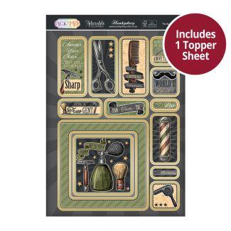 Pick 'N' Mix Topper Sheet - The Barber Shop