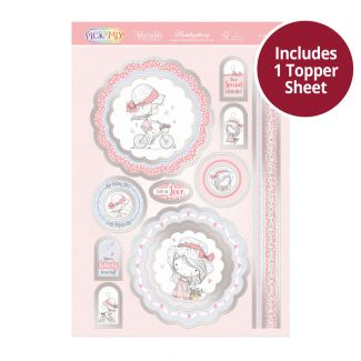 Pick 'n' Mix Topper Sheet - Birthday Girl