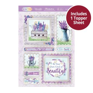 Pick 'n' Mix Topper Sheet - Blooming Lovely