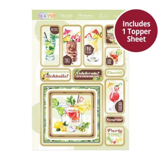Pick 'n' Mix Topper Sheet - Cocktail Hour