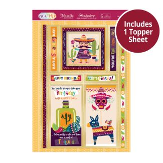 Pick 'n' Mix Topper Sheet - Let's Fiesta!