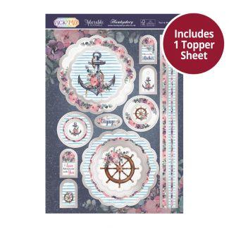 Pick 'n' Mix Topper Sheet - You're My Anchor