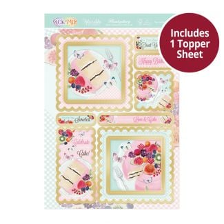 Pick 'n' Mix Topper Sheet - You're the Sweetest
