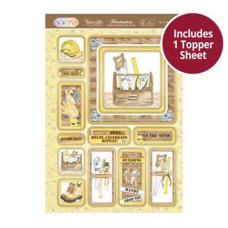 Pick 'n' Mix Topper Sheet - You're Tool-rific!