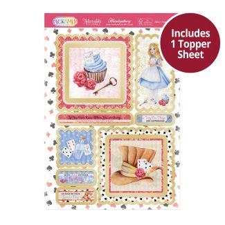 Pick 'N' Mix Topper Sheet - Alice's Wonderland