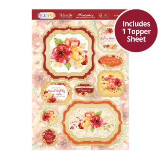 Pick 'N' Mix Topper Sheet - Autumn Blooms