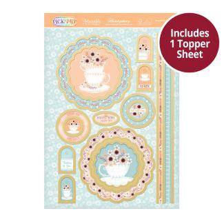 Pick 'N' Mix Topper Sheet - Beautifully Brewed
