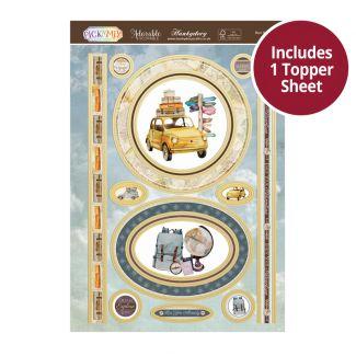 Pick 'N' Mix Topper Sheet - Bon Voyage!