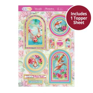 Pick 'N' Mix Topper Sheet - Colourful Koi