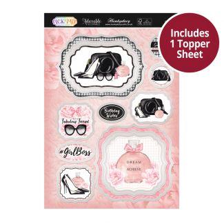 Pick 'N' Mix Topper Sheet - Girl Boss