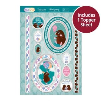 Pick 'N' Mix Topper Sheet - Holy Moly!