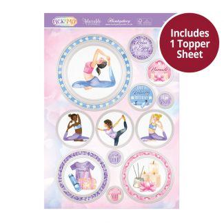 Pick 'N' Mix Topper Sheet - Love Yoga