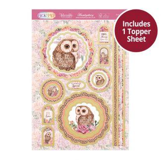 Pick 'N' Mix Topper Sheet - Owl Always Love You