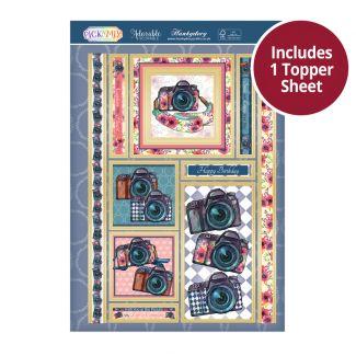 Pick 'N' Mix Topper Sheet - Smile!