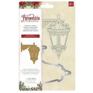 Poinsettia Perfection - Stamp & Die - Candlelit Christmas