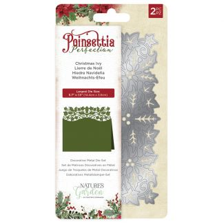 Poinsettia Perfection - Metal Die - Christmas Ivy