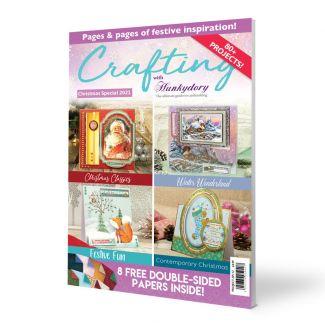 Crafting with Hunkydory Project Magazine - Christmas Edition 2021