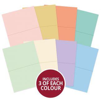 Matt-tastic A6 Printed & Pre-Scored Card Blanks