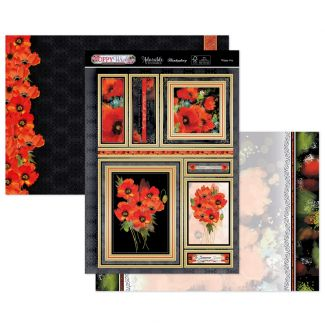 Poppy Joy Luxury Topper Set
