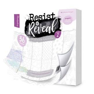 "Resist & Reveal 8"" x 8"" Clear Foiled Pad Volume 2"