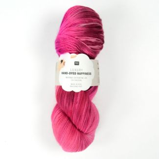 Hand-Dyed Happiness 100g - Fuchsia