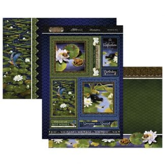 Moonlit Lily Pond Mirri Magic Topper Set