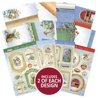 Little Red Robin Luxury Topper Collection