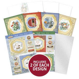 Little Red Robin Floating Topper Concept Card Collection