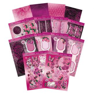 Rose Quartz Dreams - A Shimmering Silk Concept Cards Collection