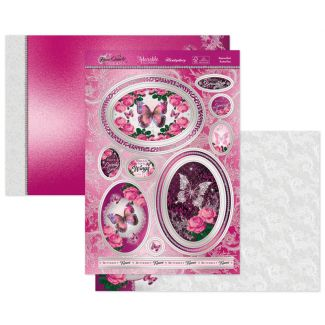 Bejewelled Butterflies Luxury Topper Set
