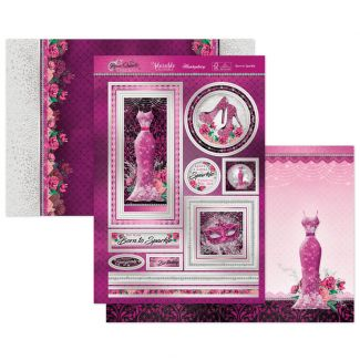 Born to Sparkle Luxury Topper Set