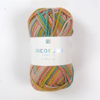 Ricorumi Prints DK Yarn 25g - Multicolour