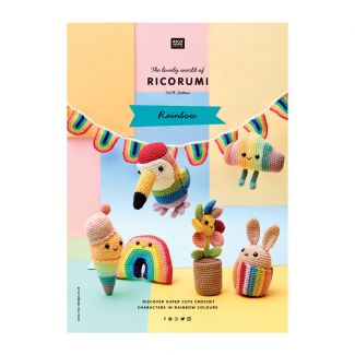 Ricorumi Pattern Book - Rainbow
