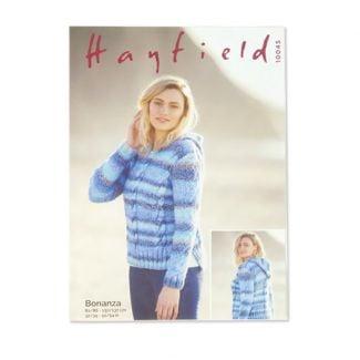 Hayfield Pattern - Ladies Sweater with Hood